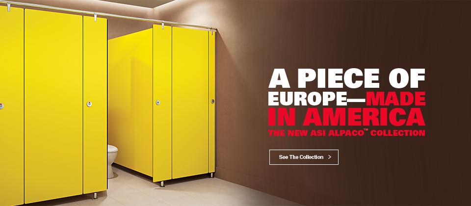 Bathroom Stalls In Europe asi global partitions | asi global partitions