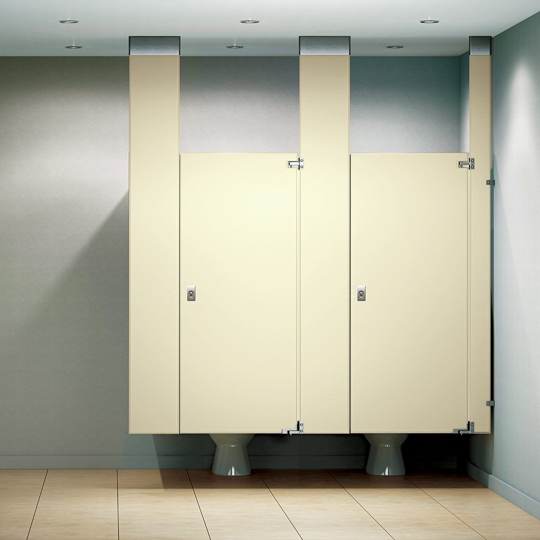 Stainless Steel ASI Global Partitions - Asi bathroom partitions